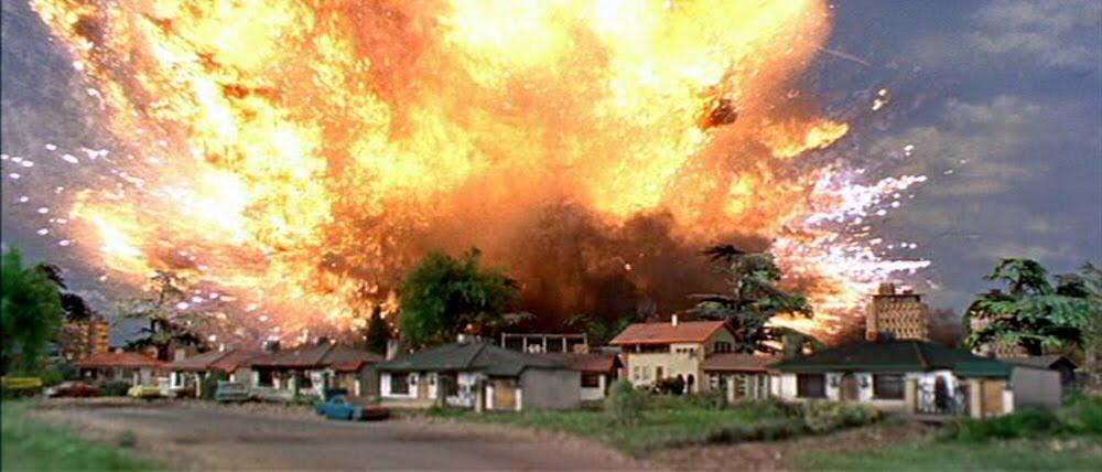 Thunderbirds explosion