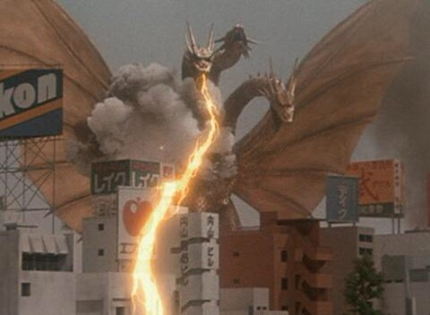 Ghidorah Attacks