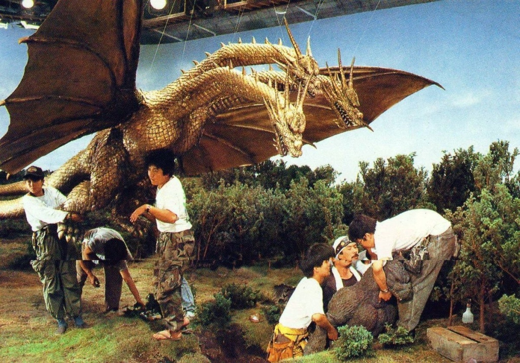 Godzilla Special Effects Crew