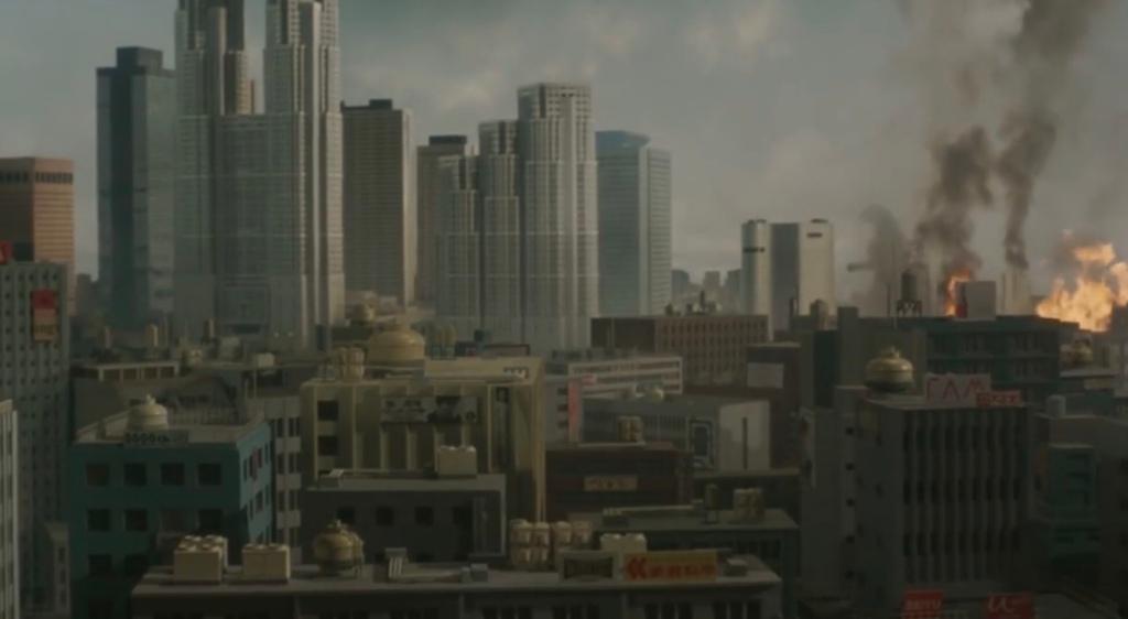 Godzilla & Skyline